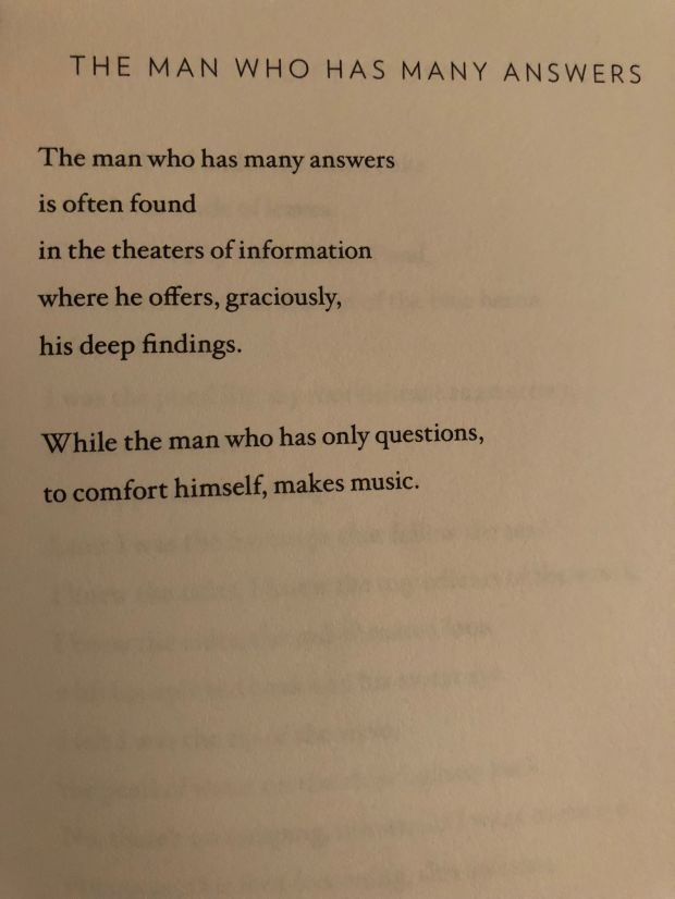 The Man Who Has Many Answers